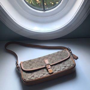 Baguette style coach bag